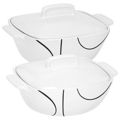 corelle casserole dishes - 9