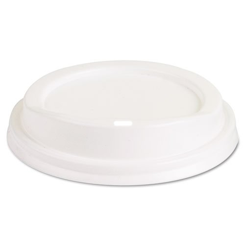(Eco-Products EP-HL8-W White Dome Lid For 8 oz Hot Cup (Case of 1,000))