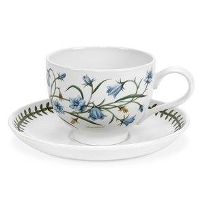 Portmeirion Botanic Garden Teacup And Saucer 2 7oz - Set of
