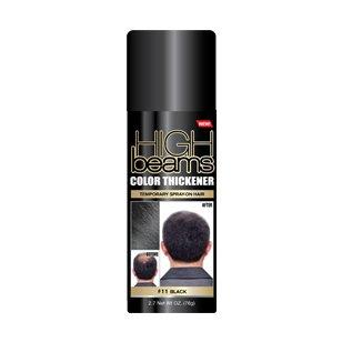 High Beams Color Thickener Temporary Spray-On Hair - Black 2.7 oz (3 pack)]()