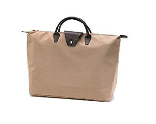 (Joann Marie Designs Short Handle Fold-Up Bag - Sand )