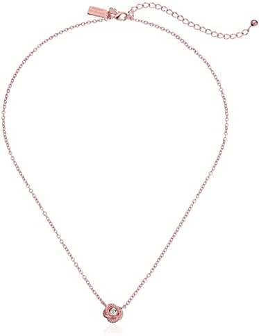 kate spade new york Infinity and Beyond Knot Mini Pendant Necklace