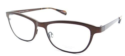- Oliver Peoples Rx Eyeglasses Frames Alden 1109T 5075 51X16 Autumn Titanium Japan