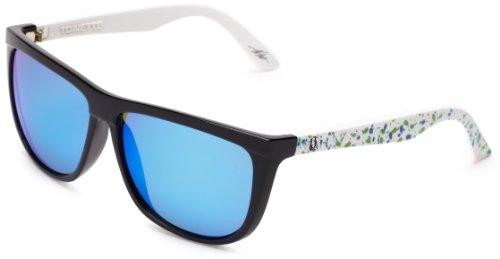 Electric Visual Tonette Blue Green Splatter Sunglasses