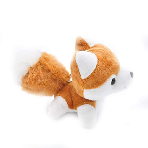 ZQQXV Kawaii Puppy Stuffed Toys 10/20cm Cute Simulation Husky Dog Plush Toys Stuffed Doll Kids Baby Toys Plush Husky ()