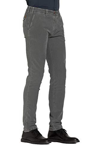 Carrera Per Uomo 890 Grigio Jeans Tinta Pantalone Unita rEqrvH6