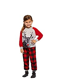 Family Holiday Oh Deer Matching Pajama Sets | Toddlers 2-Piece Pajama Size 4T