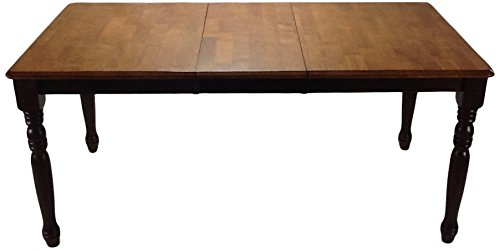 Iconic Furniture Rectangle Turned Leg Dining Table, 36