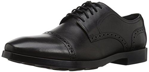 Cole Haan Men's Jefferson Grand Cap OX II Oxford, Black, 12 Medium (Mens Grande)