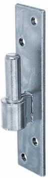 Gah-Alberts 306670 Gond sur platine Diam/ètre 12 mm 130 x 40 mm
