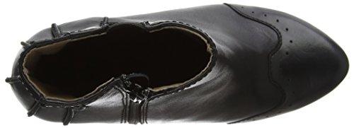 Mujer Alar140fly con London Negro para Zapatos de Cerrada Black Punta Tacón Fly z6Hw7xnAq