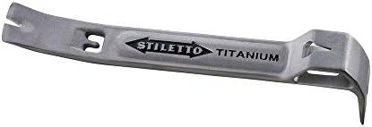 Stiletto FB5 5.25-Inch Multipurpose All Titanium Flatbar