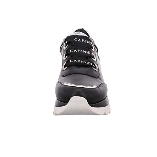 Scarpe Pelle 37 Donna Sneakers Nere N° Cafènoir 151 Db 010 tWwqnCS4