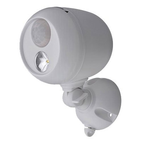 Mr. Beams MB330 Wireless LED Spotlight with Motion Sensor and Photocell, White (Wireless Outdoor Motion Lights compare prices)
