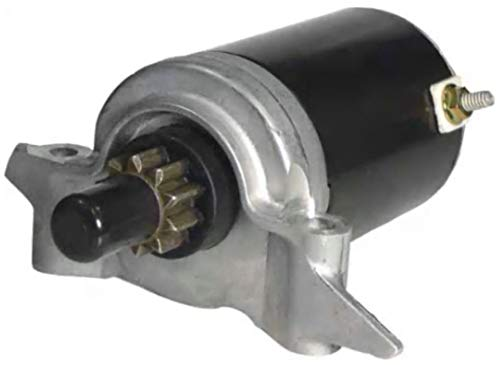 New Premium Starter fits Tecumseh Lawn Mower Applications OV691EA, OV691EP, TVT691, TVX691, Replaces 37284 12 Volt Permanent Magnet Direct Drive 10 Tooth CCW Rotation 435-301 71-35-5893 5893