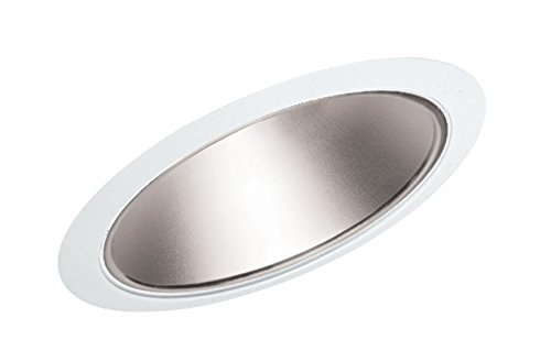 Standard Slope Trims (Juno Lighting Group 620HZ-WH Cone Standard Slope Recessed Trim with Haze Reflector and White Trim, 6-Inch by Juno Lighting Group)
