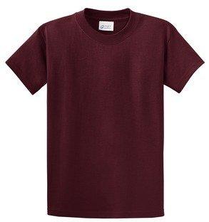 (Port & Company - Essential T-Shirt. - Athletic Maroon -)