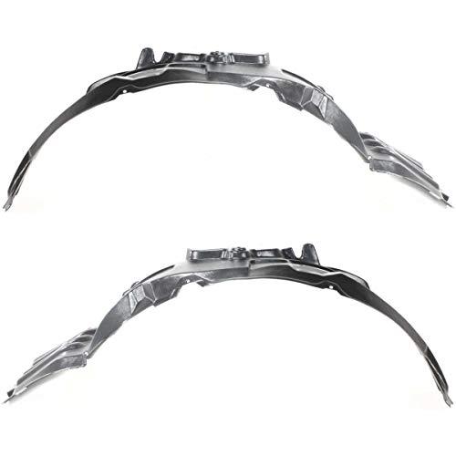 Parts N Go 2006-2012 Mitsubishi Eclipse Fender Liner Pair Driver & Passenger Side Left/Right Hand - MI1251107, 5370A263
