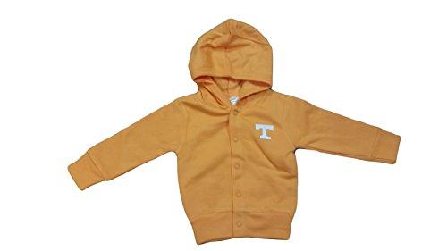 Creative Knitwear Tennessee Volunteers NCAA Toddler Hooded Sweatshirt Snap Jacket (3 Toddler)