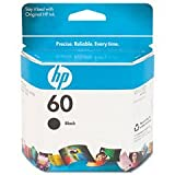 HP 60 Black Inkjet Cartridge, 1 x black – 200 pages, Office Central