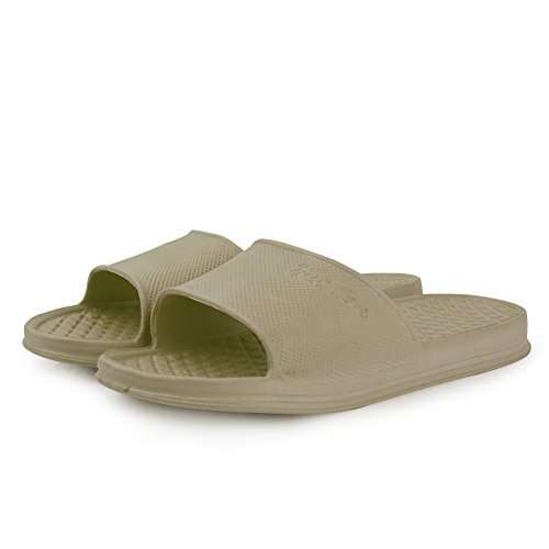 Shoes Khaki Bath for Ultralight Men Sandal and House Slipper Indoor Women Anti Shower EQUICK Home Slip qZntSzwzc