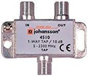 Derivador con Conector F de 1 Salida y 10dB de pérdida ...