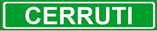 novelty-family-last-name-cerruti-street-sign-4x18-plastic-wall-art-dcor
