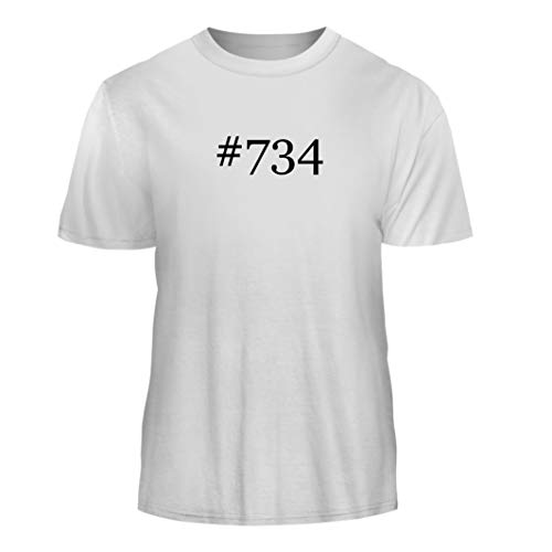 Price comparison product image Tracy Gifts #734 - Hashtag Nice Men's Short Sleeve T-Shirt, White, Small