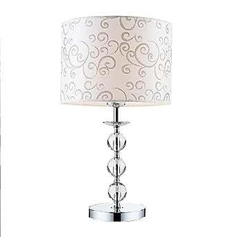 LOCO Lámparas de mesa, 1 luz, personalidad de la manera artística de acero inoxidable Galjanoplastia