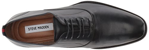 Pictures of Steve Madden Men's Driscoll Oxford Navy DRIS01M1 Navy Leather 2