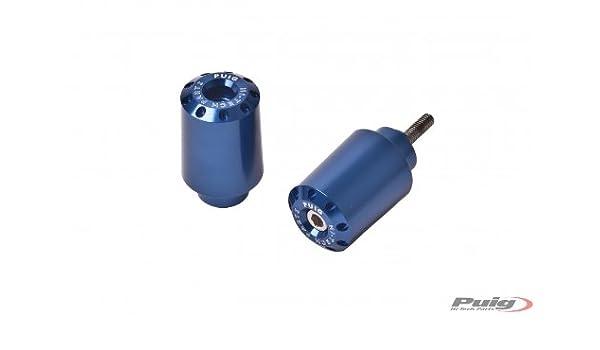 Yamaha X-MAX 250 Puig 6276A Color Blue Bar Ends by Pair Long Model 125 M6