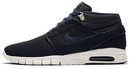 quality design 687ff 45c52 NIKE Stefan Janoski MAX MID Mens Skateboarding-Shoes 807507-005 13 -  Black Obsidian