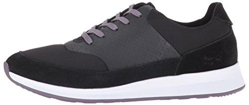 Lacoste Women's Joggeur Lace 416 1 Caw Fashion Sneaker, Black, 9 M US