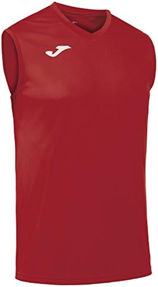 Joma Combi s/m, Camiseta Técnica sin Manga Unisex, Rojo, 6XS-5XS ...