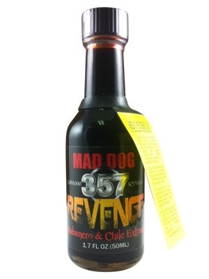 Mad Dog Revenge Habanero and Chile Extract (Pack of (Chile Extract)