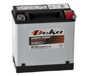 Deka Power Sports ETX16L Battery