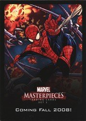 (Marvel Masterpieces Series 2 UDE Points (Series 3 Promo) Card)