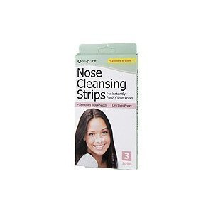 (6 Nu Pore cleansing nose strips cleans unclogs pores )