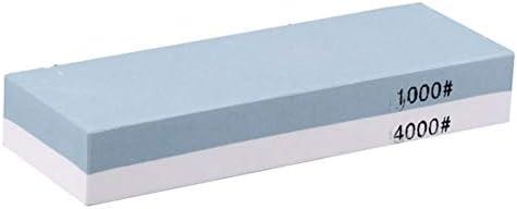 プレミアム砥石、精密ナイフ研ぎ石のアップグレード、1000/4000キッチンナイフ、タクティカルナイフ、はさみ用の2つのグリットサイド砥石