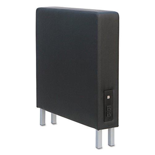 (Alera ALEQB8316 QUB Series Powered Armrest Wedge, 5 7/8 x 26 3/8 x 30 1/2, Black)