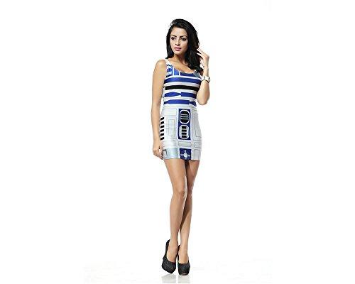 Star Wars R2D2 Stretchkleid V1 Stuff4Players d7qwYdx