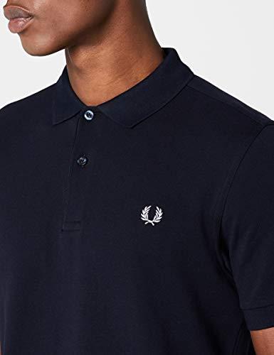 Fp Maglietta Fred Navy Perry Uomo Shirt Plain 57wPqfIwxO