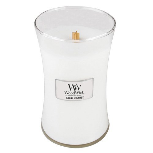 WoodWick Island Coconut Candle, Large