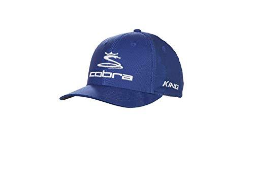 Cobra Golf 2019 Pro Tour Stretch Fit Hat (Surf The Web, L/XL)