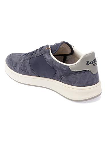 Lotto Sneakers Herren 7382BLUE Blau Leder rFrOwH
