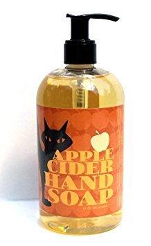 Greenwich Bay APPLE CIDER Hand Soap with Shea Butter, Apple Blossom Oil, Cocoa Butter and Vitamin E 16oz