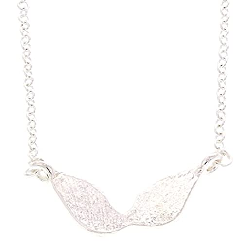 Guardian Angel Wings Memorial Gift Silver-Tone Guardian Angel Wings Necklace Watches Over Me