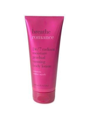 Bath & Body Works Breathe Romance Gradual Tanning Lotion 6.7oz