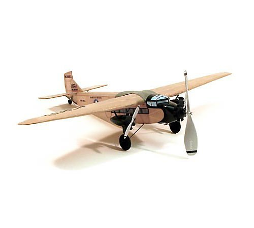Ford Tri-Motor Rubber Powered Model Airplane by Dumas