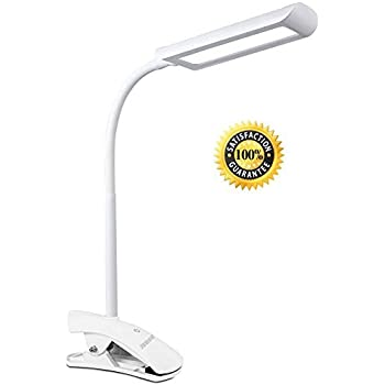 Led Desk Lamp Flexible Neck Rhinoteck Z2 Dimmable Clip On